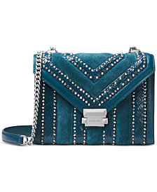 MICHAEL Michael Kors Whitney Embellished Shoulder Bag