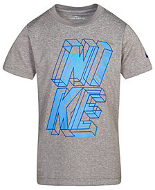 Nike Little Boys Dri-FIT Block Graphic-Print T-Shirt