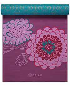 Gaiam KiKu Reversible 6mm Yoga Mat