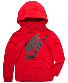 Nike Little Boys Future Fleece Graphic Pullover Hoodie