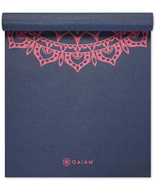 Gaiam 4mm Yoga Mat - Women s Brands - Women - Macy s 6c9f7a7be