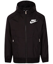 Nike Toddler Boys Colorblocked Hooded Sportswear Windrunner Jacket