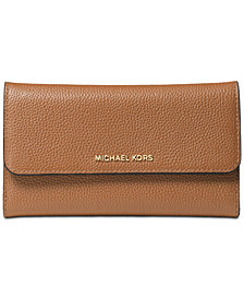 MICHAEL Michael Kors Pebble Leather Trifold Wallet
