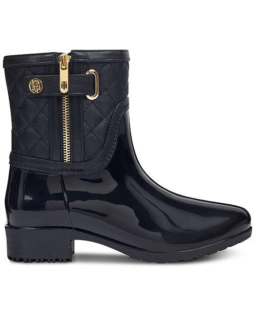 33490684e ... Tommy Hilfiger Women s Francie Rain Boots