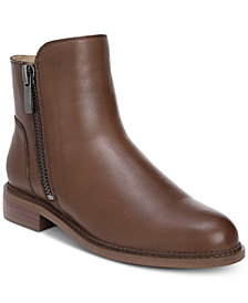 Franco Sarto Harmona Double-Zip Ankle Booties