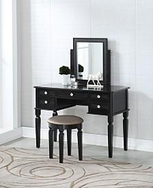 Vanity Set with Stool