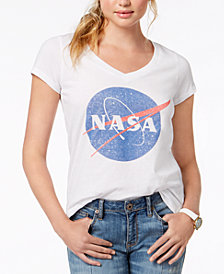 Love Tribe Juniors' Nasa Graphic T-Shirt