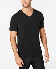 I.N.C. Men's Dressy V-Neck T-Shirt, Created for Macy's