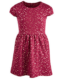 Epic Threads Big Girls Ponté Knit Star-Print Dress, Created for Macy's
