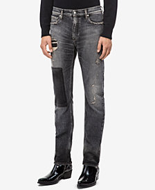 Calvin Klein Jeans Men's Slim-Fit Monly Patch Jeans,CKJ 026