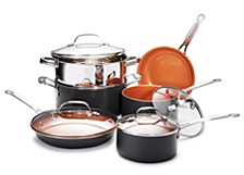 Non-Stick Ti-Ceramic 10 Piece Round Cookware Set