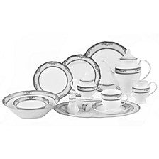 Victoria 57-Pc. Dinnerware Set, Service for 8