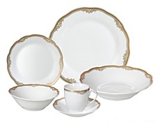 Catherine 24-Pc. Dinnerware Set, Service for 4