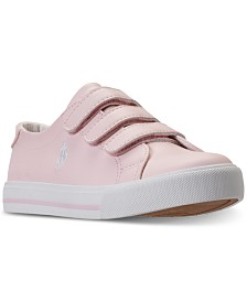 Polo Ralph Lauren Little Girls' Slater EZ Casual Sneakers from Finish Line
