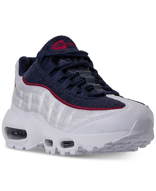san francisco 6b429 e0b62 ... Nike Women s Air Max 95 LX Casual Sneakers from Finish ...