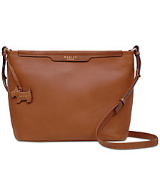 Radley London Zip-Top Leather Crossbody Bag