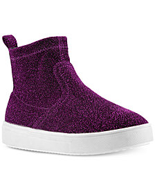 Nina Toddler, Little & Big Girls Isha High-Top Sparkle-Mesh Shoes