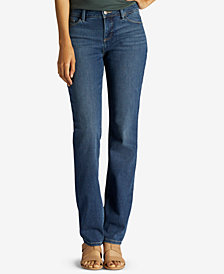 Lee Regular Fit Secretly Shapes Straight Leg Jean