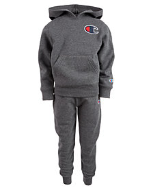 Champion Little Boys 2-Pc. Heritage Fleece Track Suit