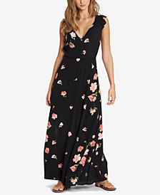 Billabong Juniors' Flutter-Sleeve Maxi Dress