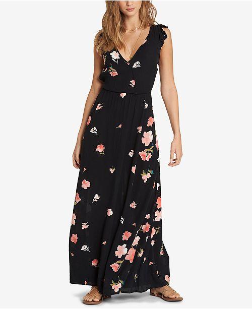 7c63dbd8d Billabong Juniors  Flutter-Sleeve Maxi Dress   Reviews - Dresses ...