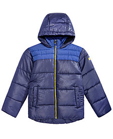 RM 1958 Big Boys Samuel Hooded Colorblocked Jacket