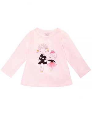 First Impressions Baby Girls Sisters Graphic Cotton Tunic Created for Macys