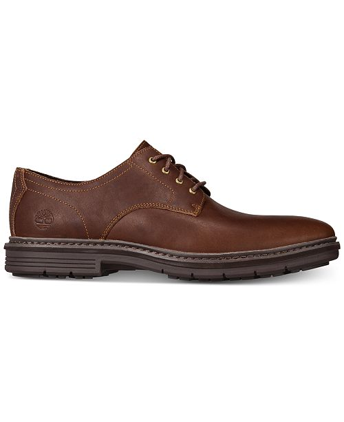 Timberland Men s Naples Trail Full-Grain Leather Oxfords - All Men s ... 90d7d70432f