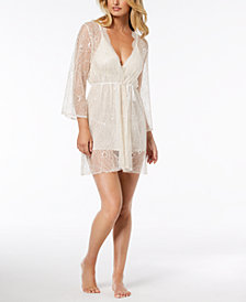 Linea Donatella Keepsake Lace Wrap Robe