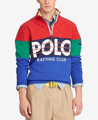 42b25fed61c Polo Ralph Lauren Men's Hi Tech Hybrid Pullover & Reviews - Casual  Button-Down Shirts - Men - Macy's