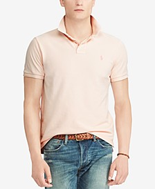 Men's Pink Pony Cotton Polo