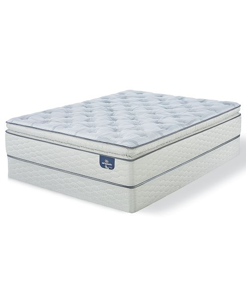 Serta Sertapedic 14 Quot Cassaway Plush Pillow Top Mattress