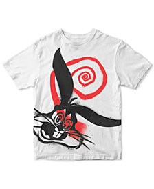 Men's Spray Paint Bugs Bunny Graphic T-Shirt
