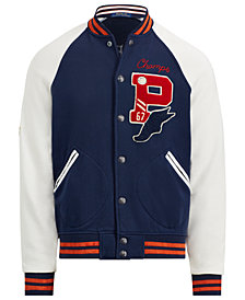 Polo Ralph Lauren Men's Big & Tall Fleece Baseball Jacket