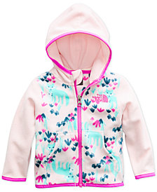 The North Face Baby Girls Glacier Zip-Up Hoodie