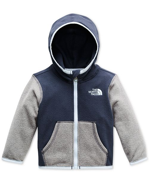 24d7cb1ca The North Face Baby Boys and Girls Glacier Zip-Up Hoodie ...
