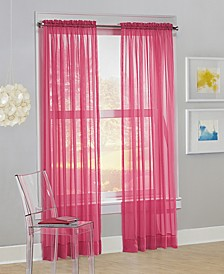 "Calypso 59"" x 63"" Sheer Curtain Panel"