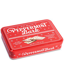 R.H. Macy & Co. Peppermint Bark Tin