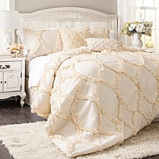 Avon 3-Piece King Comforter Set