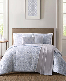Jennifer Adams Solana Full/Queen 7Pc Comforter Set