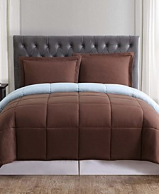 Everyday Reversible Full/Queen Comforter Set