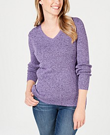 Ribbed-Knit Cotton Sweater, Created for Macy's