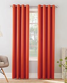 "Sun Zero Grant Room Darkening Grommet 54"" x 63"" Curtain Panel"