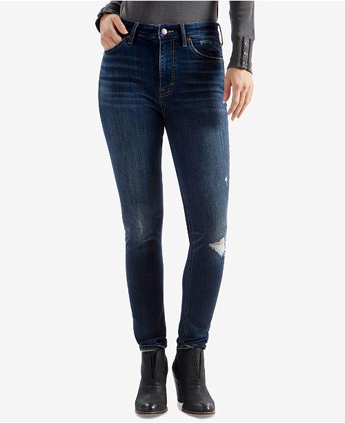 Lucky Brand Bridgette Skinny Ripped Jeans