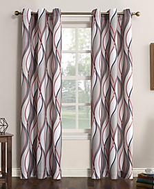 Intersect Printed Grommet Curtain Panel Collection
