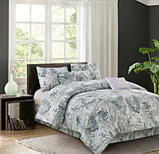 Carrera Grey 7-piece Comforter Set, Full