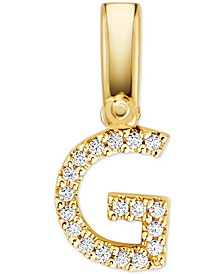 Women's Custom Kors 14K Gold-Plated Sterling Silver Letter Charm
