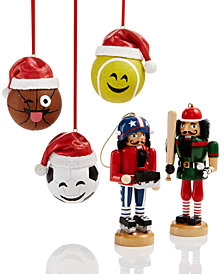 Holiday Lane Sports Ornament Collection, Created for Macy's