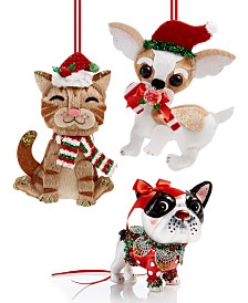 Holiday Lane Pet Ornament Collection, Created for Macy's