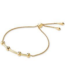 Michael Kors Women's Custom Kors Sterling Silver Starter Bracelet